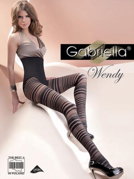 Gestreepte panty Wendy van Gabriella