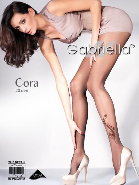 Elegante pantys met patroon Cora van Gabriella