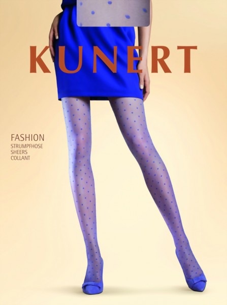 Elegante polka dot panty Rich Dots van KUNERT