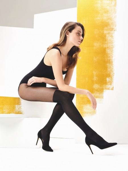 Trendy panty met overknee-motief Pauline van Omero