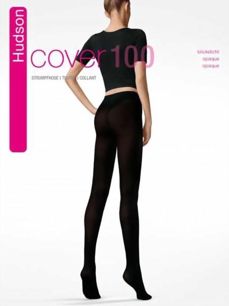 Gladde ondoorzichtige panty Cover 100 van Hudson