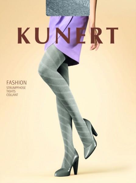 Trendy panty met patroon Diagonal van KUNERT