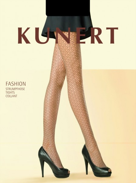 Trendy netpanty met patroon Jazziness van KUNERT