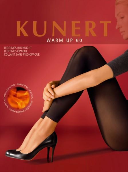 Gladde ondoorzichtige leggings Warm up 60 van KUNERT