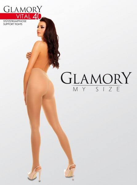Grote maten steunpanty Vital 40 van Glamory