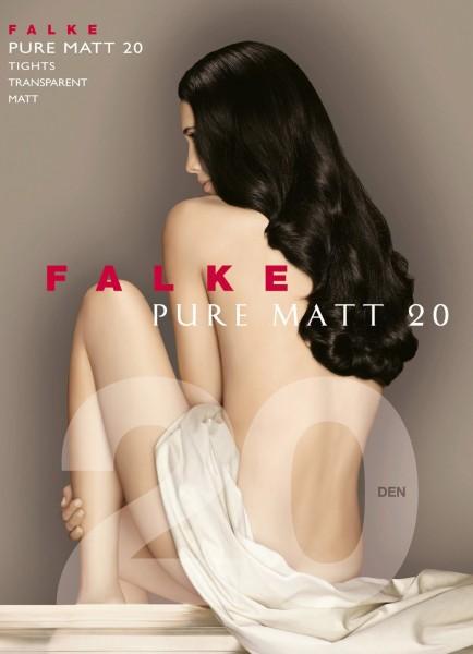 FALKE Pure Matt 20 - Fijne matte panty