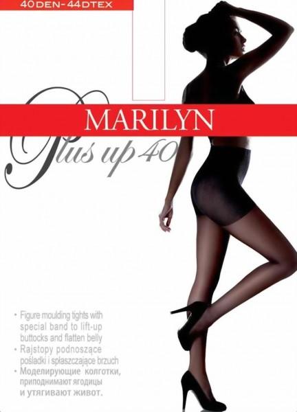 Figuurvormende steunpanty met push-up effect Plus Up van Marilyn