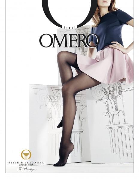 Klassieke gladde panty van microvezel Iride 30 van Omero