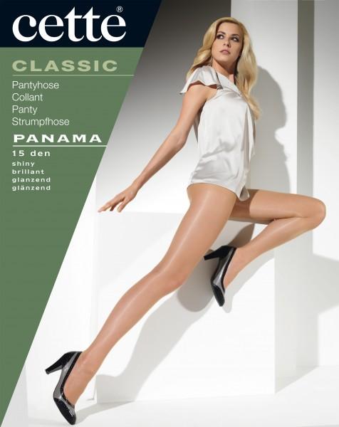 Cette Panama - Fijne, glanzende panty, 15 denier