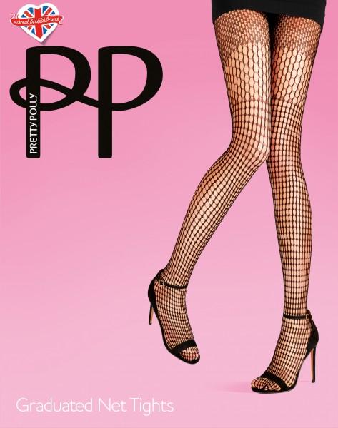 Netpanty met patroon Graduated Net van Pretty Polly