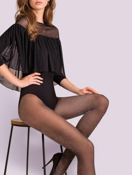 Elegante glanzende panty met Lurex-effect 20 DEN van Gabriella