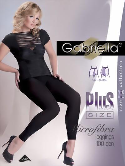 Grote maten leggings Microfibra van Gabriella, 100 DEN