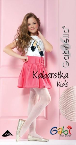 Kinderpantys met netstructuur Kabaretka Kids van Gabriella