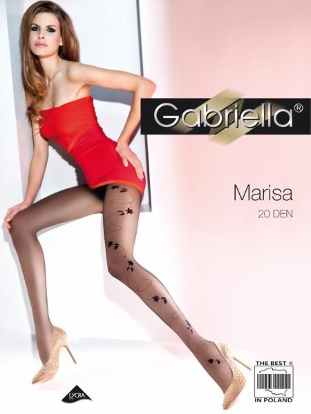 Elegante pantys met patroon Marisa van Gabriella