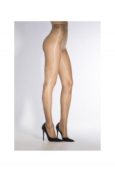 Comfortabele glanzende panty zonder boord Eterno 15 van Cecilia de Rafael