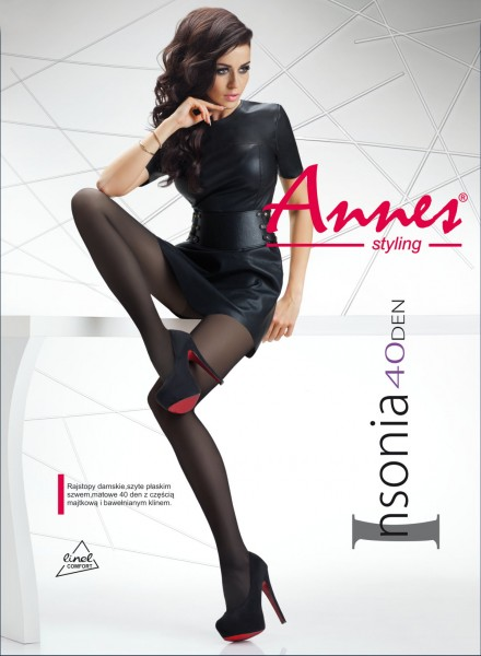Gladde semi-opaque panty Insonia van Annes