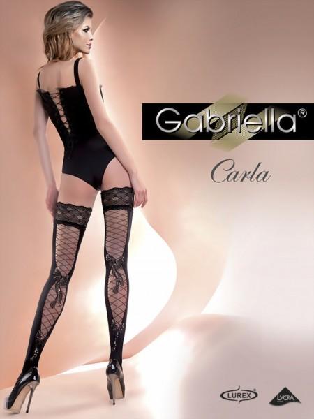 Elegante stay ups met verleidelijk patroon Carla van Gabriella