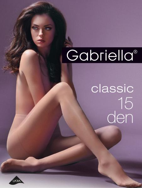 Klassieke panty Miss Gabriella van Gabriella, 15 DEN