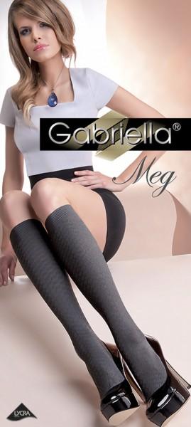 Trendy kniekousen met patroon Meg van Gabriella