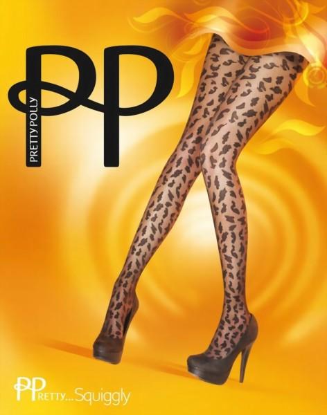 Trendy pantys met luipaard patroon PPretty ... Squiggly van Pretty Polly