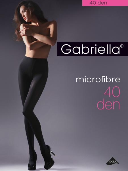 Gladde klassieke panty Microfibre 40 DEN van Gabriella