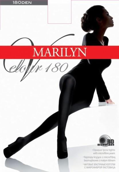 Gladde ondoorzichtige pantys Velour 180 van Marilyn