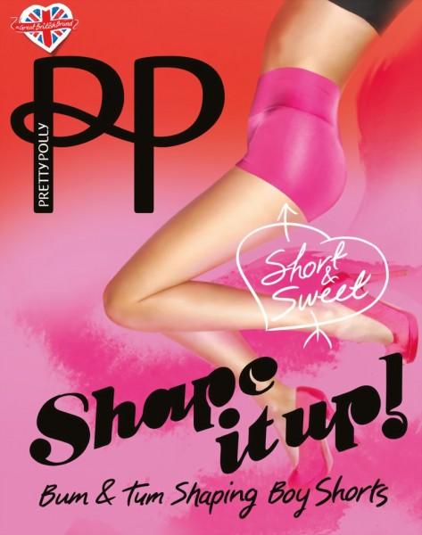 Shape It Up - Figuurvormende Boy Shorts van Pretty Polly
