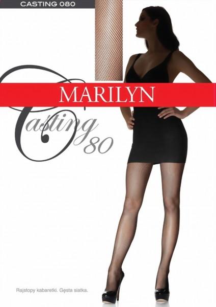 Elegante netpanty Casting van Marilyn