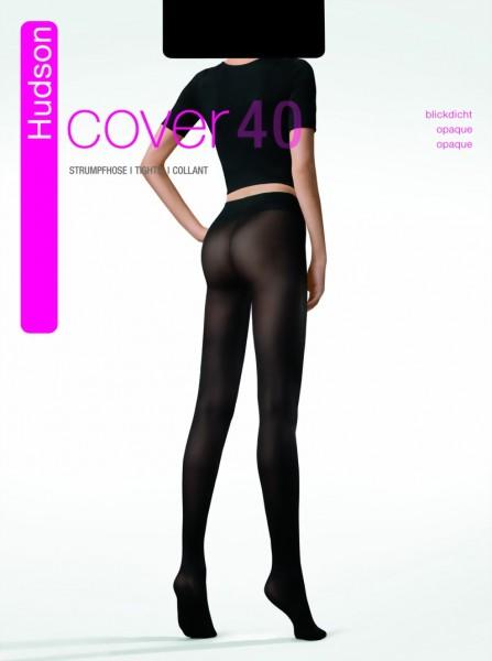Gladde ondoorzichtige panty Cover 40 van Hudson