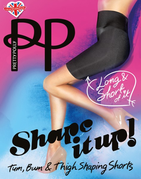 Shape It Up - Figuurcorrigerende Long Line Shaper Shorts van Pretty Polly