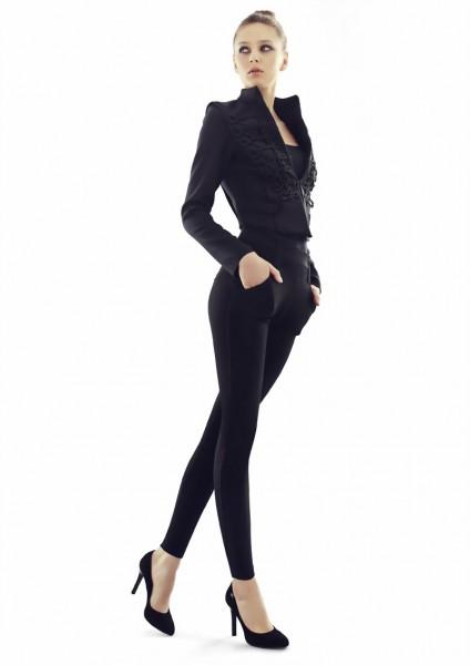 Elegante leggings met katoen van Marilyn 180 DEN