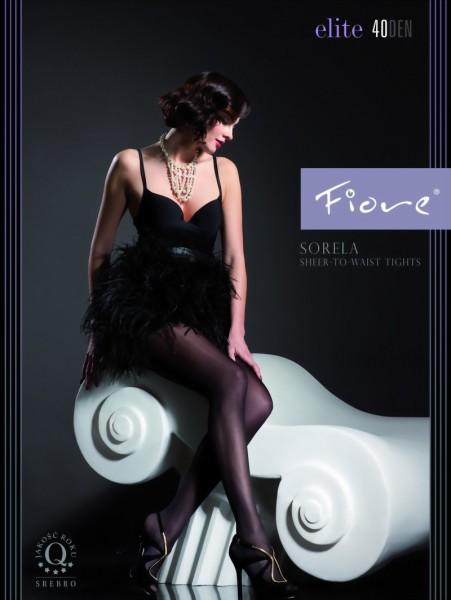 Klassieke gladde panty Sorela van Fiore, 40 DEN