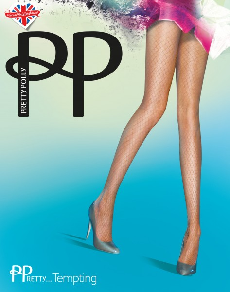 Zachte netpanty PPretty...Tempting van Pretty Polly