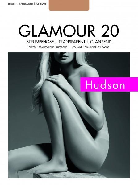 Gladde glanzende panty Glamour 20 van Hudson
