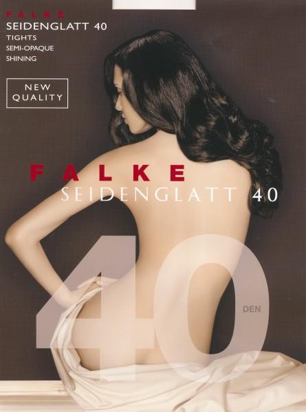 FALKE Seidenglatt 40 - Semi-opaque panty met satijnglans