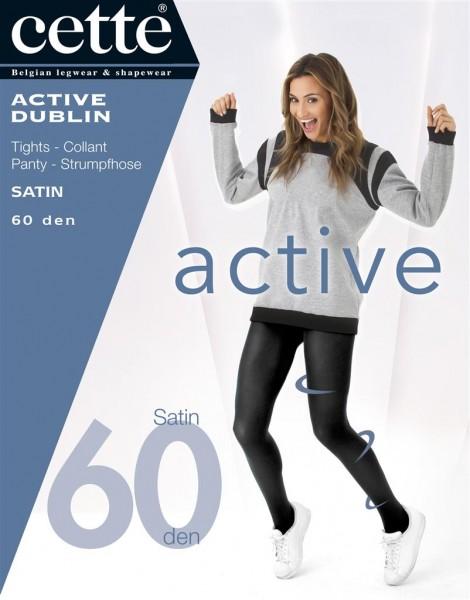 Cette Active Dublin - Opaque panty met satijnglans en vitaliserend effect