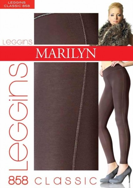 Legging met katoen Classic van Marilyn 120 DEN