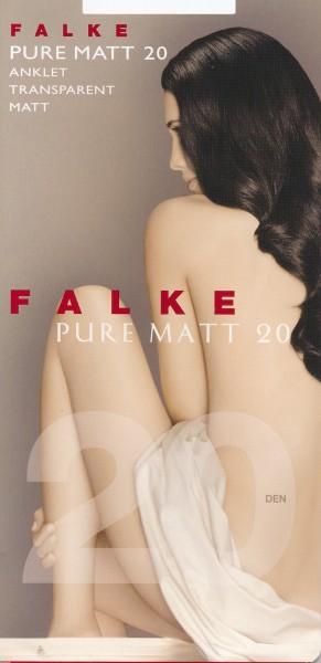 FALKE Pure Matt 20 - Fijne matte sokjes