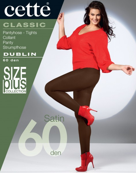 Cette Size Plus Collection - Opaque grote maten panty Dublin