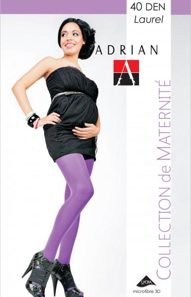 Semi-opaque zwangerschapspanty Laurel van Adrian, 40 DEN