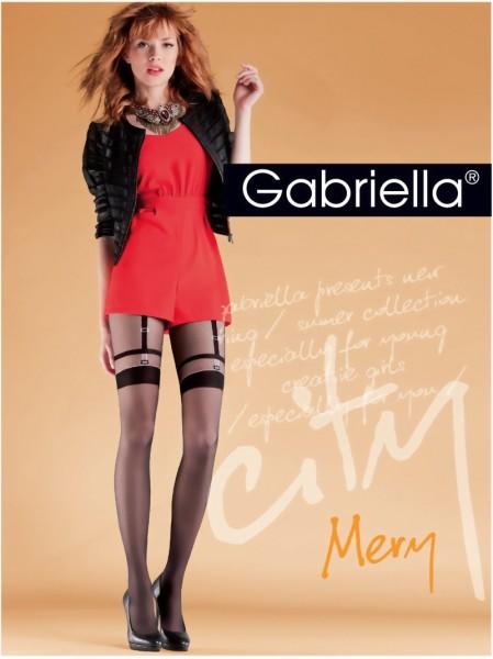 Trendy panty met kousenmotief Mery van Gabriella