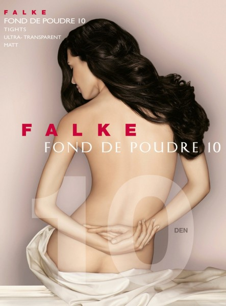 FALKE Fond de Poudre - Ultra-transparante zomerpanty met matt-effect