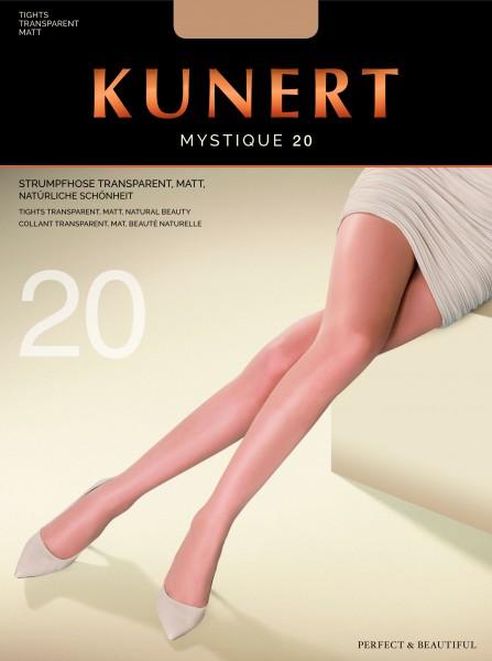 Elegante gladde panty Mystique 20 van KUNERT