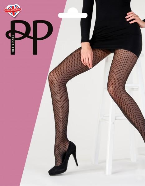 Fijne panty met geometrisch patroon Sheer Geo Tights van Pretty Polly
