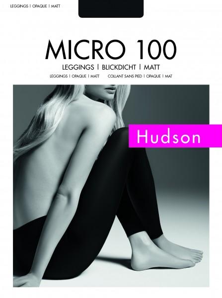 Gladde opaque leggings Micro 100 van Hudson
