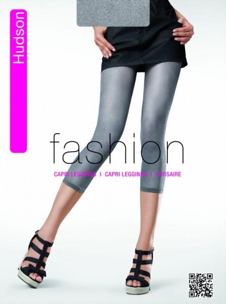 Trendy capri leggings in jeans-look Glossy Filet van Hudson