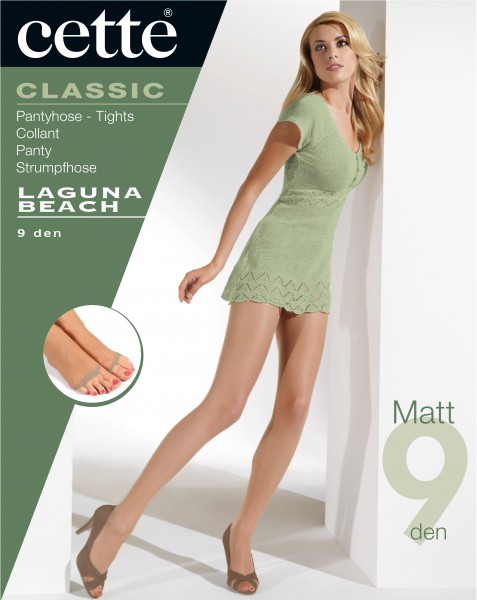 Cette Laguna Beach - Zeer fijne open teen zomerpanty