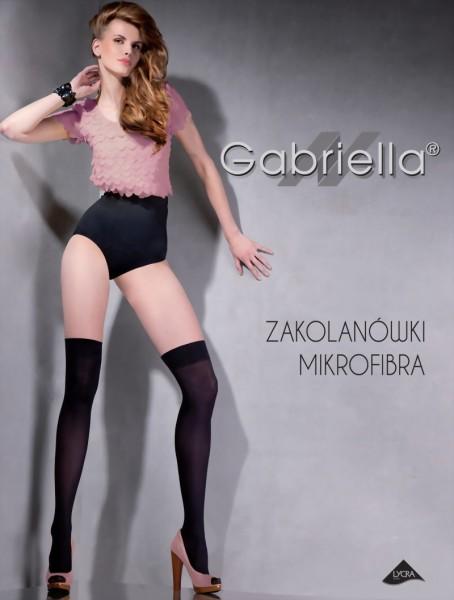 Klassieke gladde overknee kousen van Gabriella