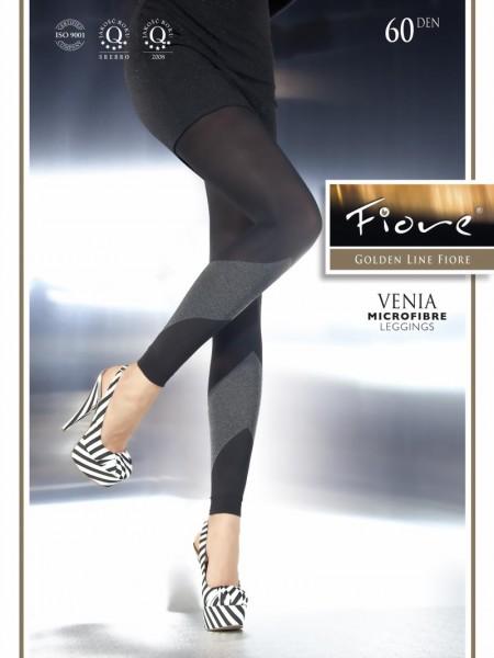 Ondoorzichtige leggings met patroon Venia van Fiore, 60 DEN