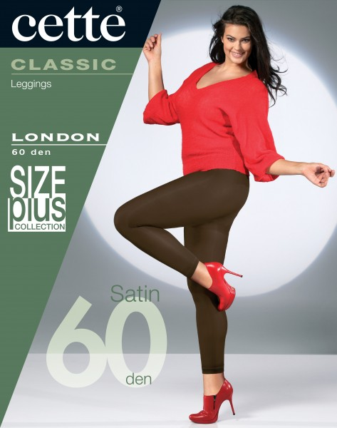 Cette Size Plus Collection - Opaque grote maten leggings London